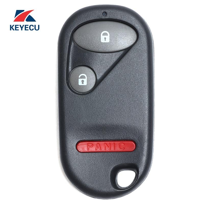2 Button Remote Car Key NHVWB1U523 NHVWB1U521 Fit for Honda Civic 2001-2005 Car Keys