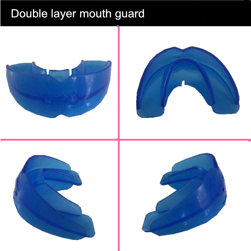 2 pieces Adult Very Soft Comfortable Double Layer Boxing Muay Thai Mouth  Guard Sports Safty Professinal Mouthguard Protector-in Mouth Guard from  Sports ...