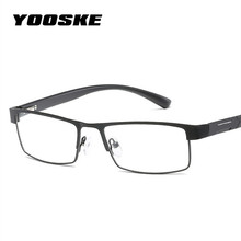 Homens Armação de Metal óculos de liga de Titânio Óculos de Leitura  Hipermetropia YOOSKE Prescrição Óculos + 1.0 + 1.5 + 2.0 + 2. a538916613