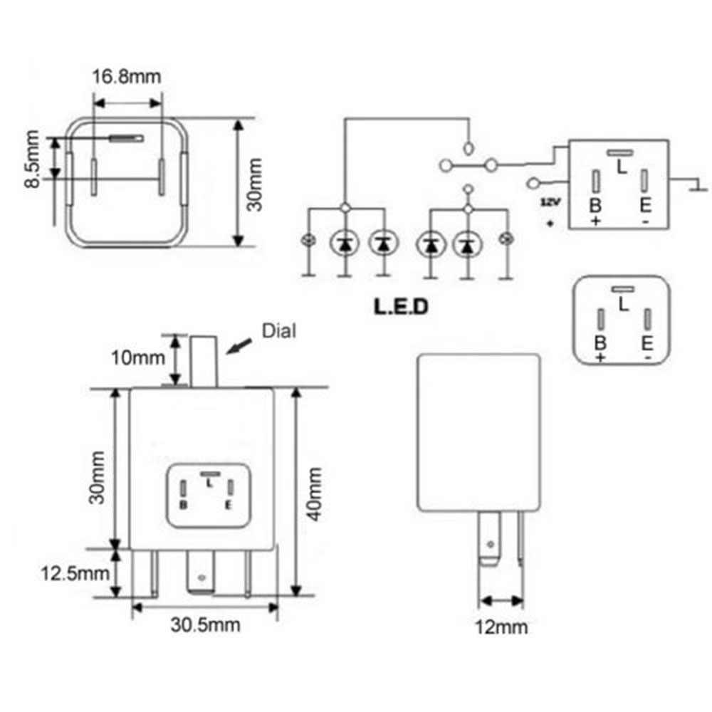 Motorcycle Turn Signal Motorcycle Turn Signal Wiring Diagram