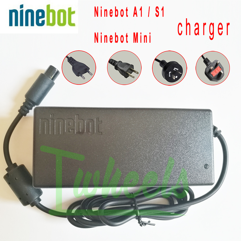 Original Ninebot Mini Ninebot One A1 S1 charger 63V fast charger balanced Vehicle EUC spare accessories