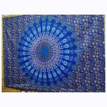Новый Индийский МАНДАЛА ГОБЕЛЕН Богемия Настенный Гобелен Мандала постельное покрывало, пляжное полотенце коврик одеяло Декоративная скатерть