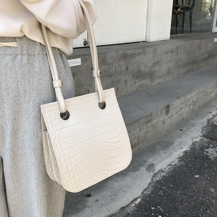Bags for women handbag designer New Korean Chic Crocodile Embossed Tote Bag Fashion Joker Shoulder Crossbody Bag