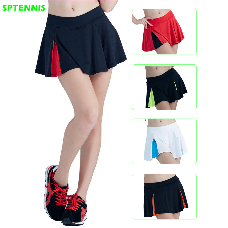 2018 New Girl Sports Mini Skirt Women's Tennis Ball Culottes Badminton Dance Cheerleader Skirt Shorts