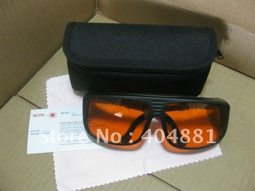 laser safety eyewear 190-540nm O.D 4+ CE certified for 266nm,445nm, 473nm, 532nm high power laser (>500mw) 2940nm laser safety eyewear 2940nm o d 4 ce certified