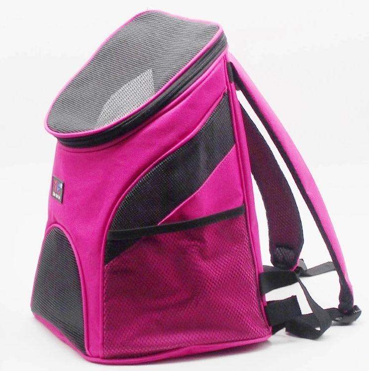 H09 New Portable S size Pet Dog Carrier Pet Backpack Bag pet Travel Bag Mesh Backpack Head Out Double Shoulder Outdoor
