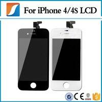 20 PÇS/LOTE Para Tela do iphone 4 4S 100% Brand New Display LCD de Substituição Com Digitador Assembléia Toque Frete Grátis