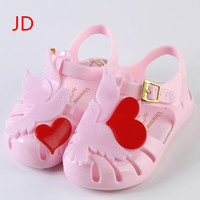 Shoes Boys New Summer Female Child Girls Sandals Smiley Face PVC Princess Baby Boy Shoes Fashion