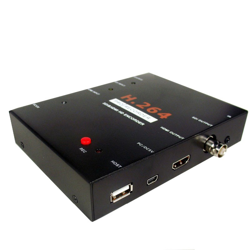 H.264 PRO Recorder HDMI video capture HD SDI monitor game capture with remote control ezcap286