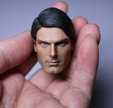 1/6 scale figure doll head shape for 12″ action figure doll accessories 1978 Superman male Head carved not include body,clothes