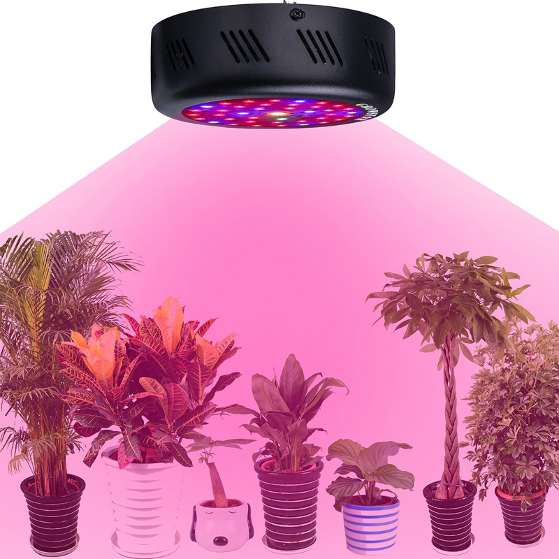 135W Plant Light UFO Full Spectrum LED Grow Light Epistar Chip For Hydroponics Greenhouse Plants Veg and Bloom