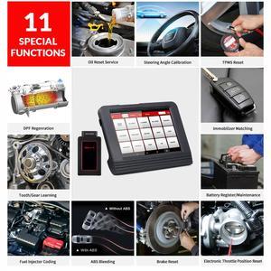 Image 3 - Launch X431 V 8 인치 자동차 전체 시스템 OBD2 스캐너 진단 자동 도구 OBDII 코드 리더 지원 블루투스/와이파이 다국어