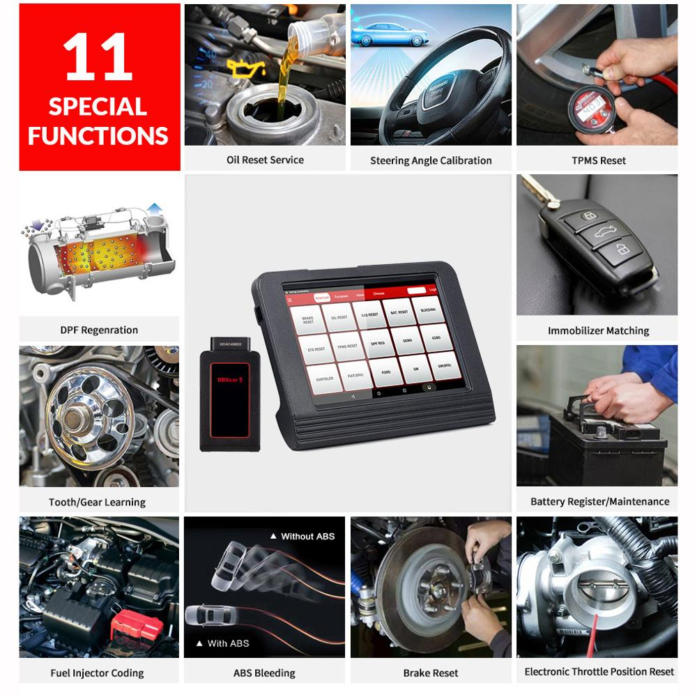 Image 3 - Launch X431 V 8inch Car full system OBD2 Scanner Diagnostic Auto Tool OBDII Code Reader support Bluetooth/Wifi Multi language-in Multimeters & Analyzers from Automobiles & Motorcycles