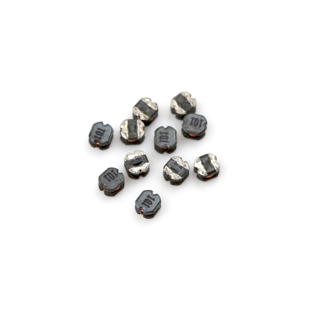 10Pcs/lot CD32 <font><b>100uH</b></font> 101 SMD Power <font><b>Inductors</b></font> Diameter 3mm High 2mm image