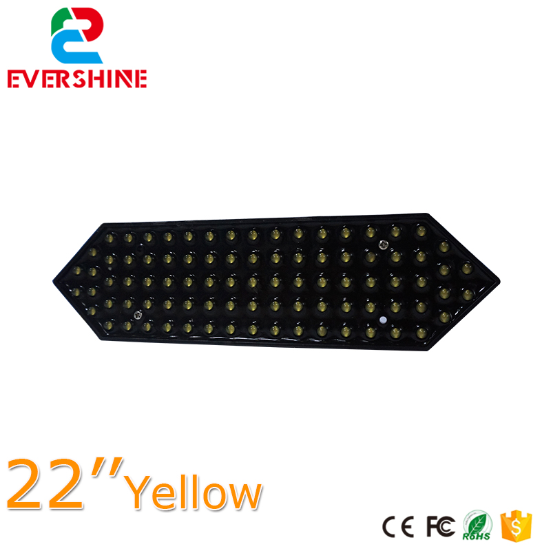 22 Outdoor Petrol Gas Station LED Price Sign Yellow Color 7 Segment of the Modules