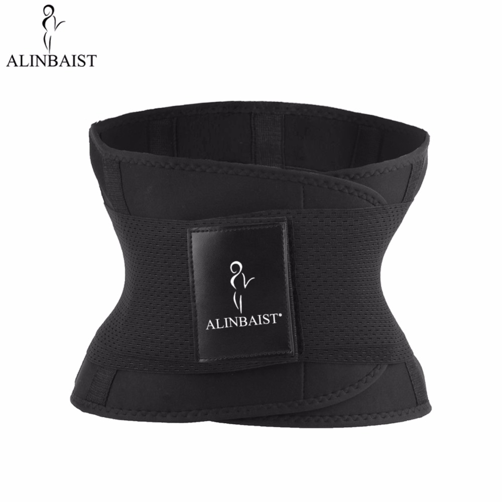 Neoprene Sweat Belt Waist Trainer Workout Trimmer Body Shaper Weight Loss Exercise Slimming Belt Girdle Waist Support Shapewear