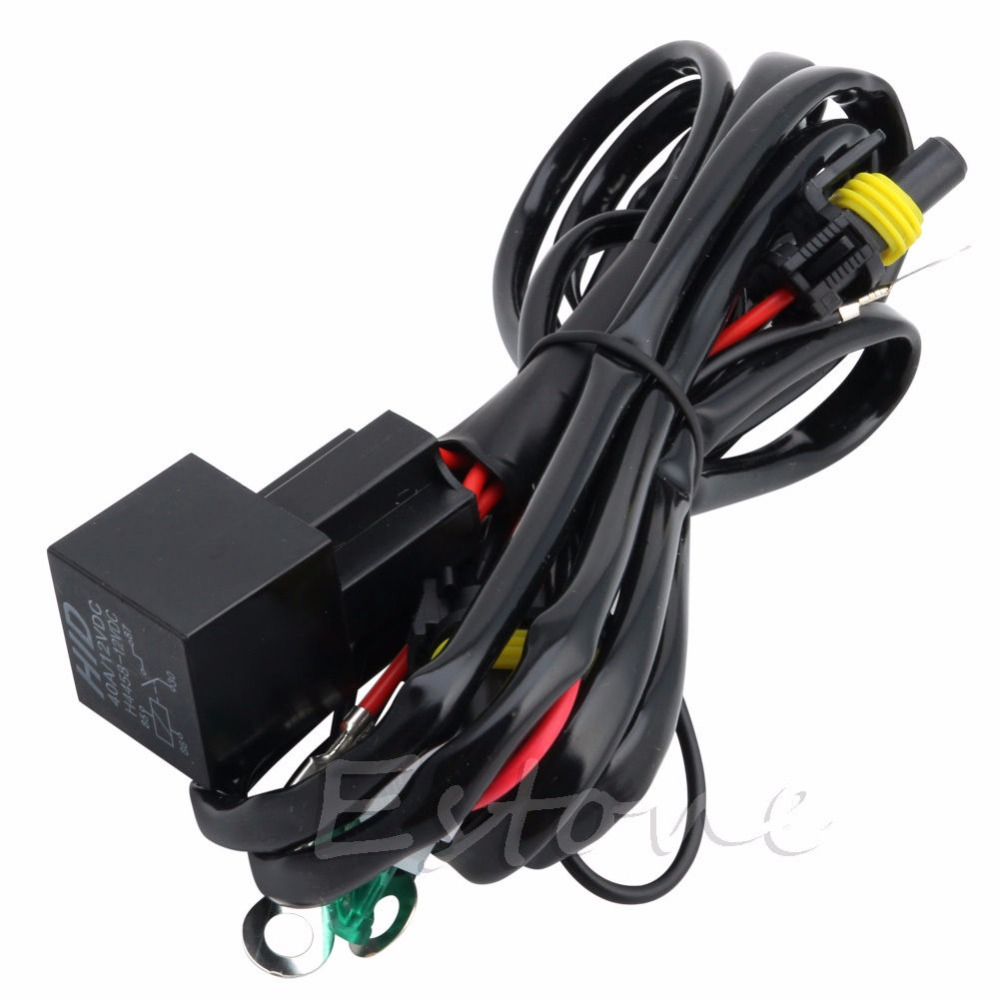 hight resolution of hngchoige hid xenon relay wire conversion light wiring harness 9006 9005 h1 h7 h8 h9 h11 9006 9005 in wire from automobiles motorcycles on aliexpress com