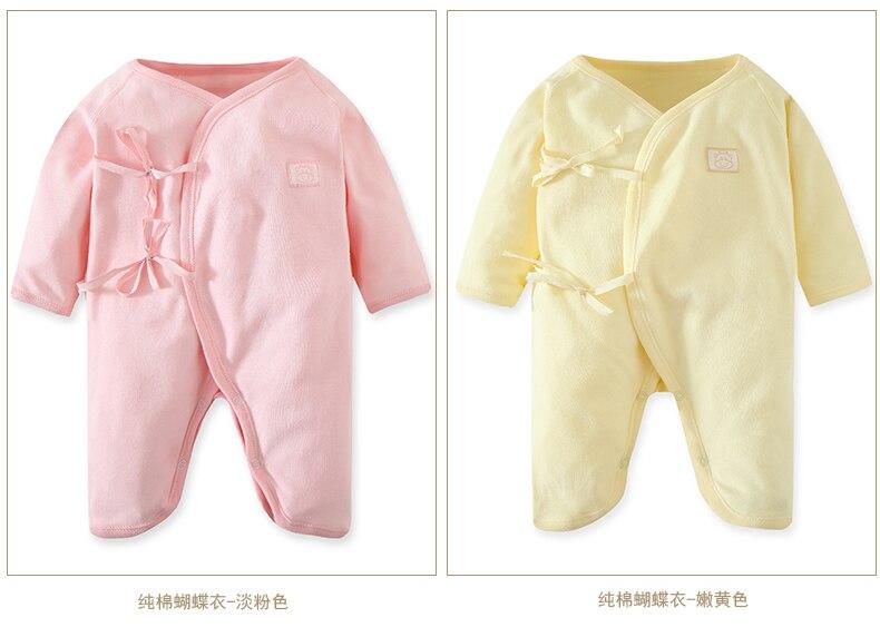 Pasgeboren kleding Baby Girl Jongen Romper Cartoon Lange mouw - Babykleding - Foto 4