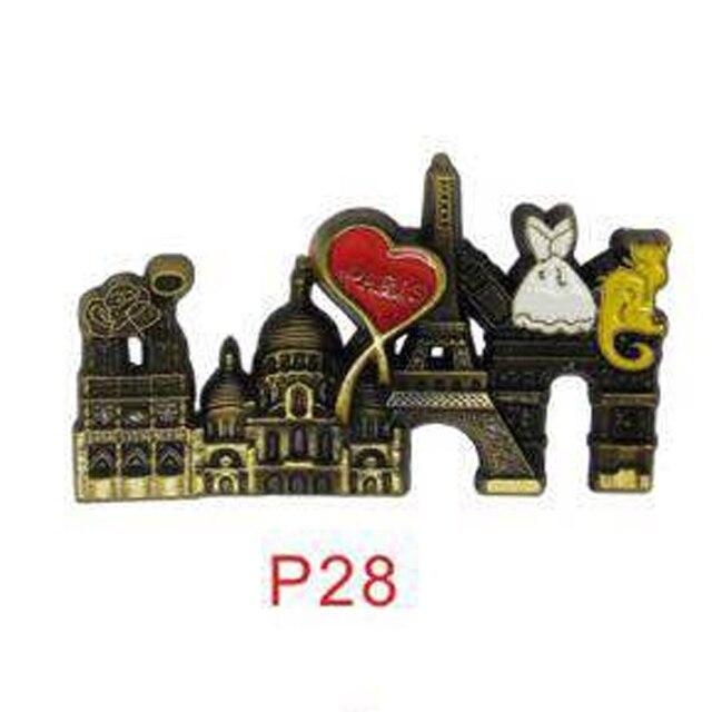 3D Paris Tower Fridge Magnet  3