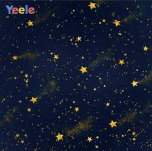Обои yeele для фотосессии с блестками звездами метеоритами фотофоны