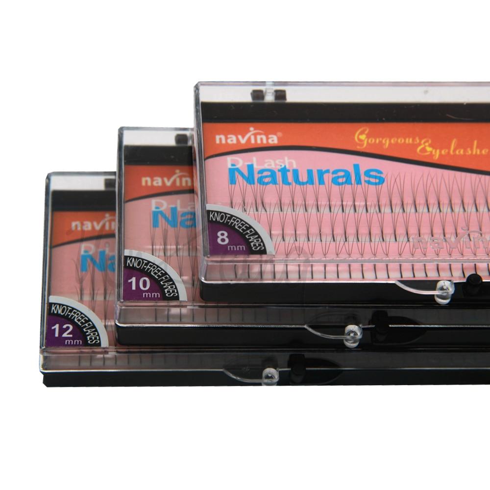 NAVINA 102 Tiras Falsas pestañas individuales D-Curl 0.12 mm grosor - Maquillaje - foto 3