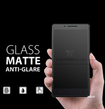 Premium Tempered Matte Glass Film For XiaomiMi5 HongMi RedMi Note 2 3 Screen Protector No Fingerprint Protective