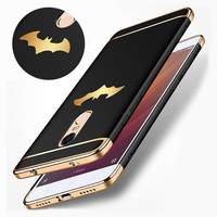 Luxury Batman Coque For Xiaomi Redmi Note 4 Case Design 3 In1 Matte Hard Slim Plastic