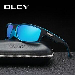 OLEY Polarized Sunglasses Men's Driving Shades Outdoor sports For Men Travel Oculos Gafas De Sol Customizable logo YG201(China)