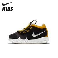 NIKE Kids KYRIE 4 LB (TD) New Arrival Winter Keep Warm Velvet Sneakers For Kids Running Sports Shoes Toddler AT5708 001