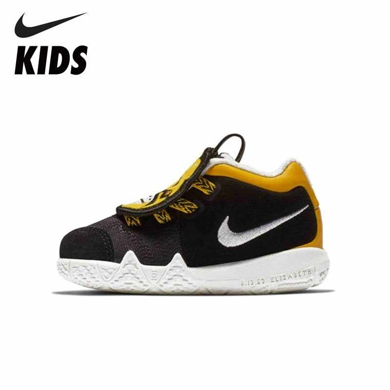 d44e6936ccd0 Detail Feedback Questions about NIKE Kids KYRIE 4 LB (TD) New Arrival  Winter Keep Warm Velvet Sneakers For Kids Running Sports Shoes Toddler  AT5708 001 on ...