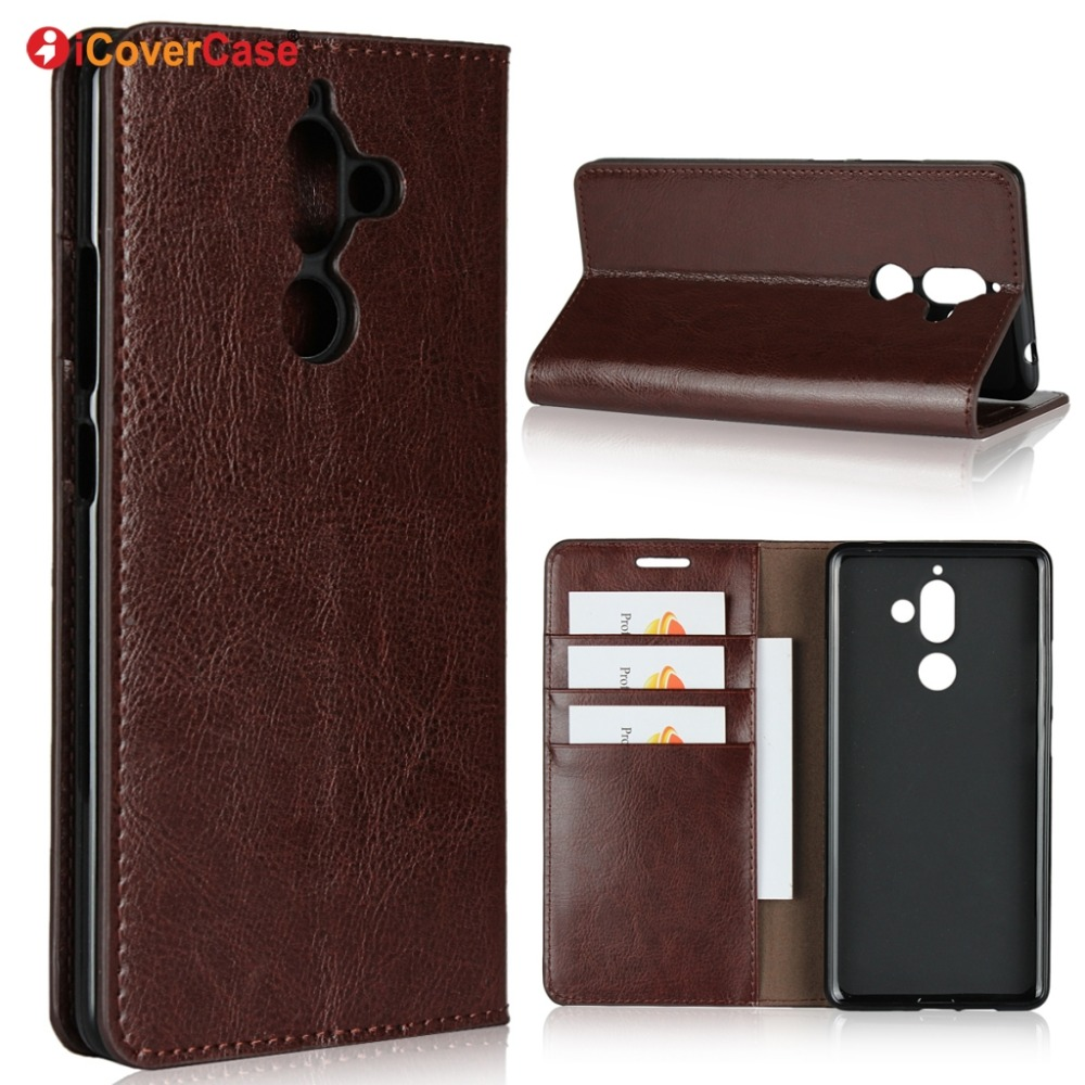 Luxury Real Genuine Leather Wallet Case For Nokia 7 Plus Flip Cover Card slot Stand Protect Case for nokia 7 plusLuxury Real Genuine Leather Wallet Case For Nokia 7 Plus Flip Cover Card slot Stand Protect Case for nokia 7 plus