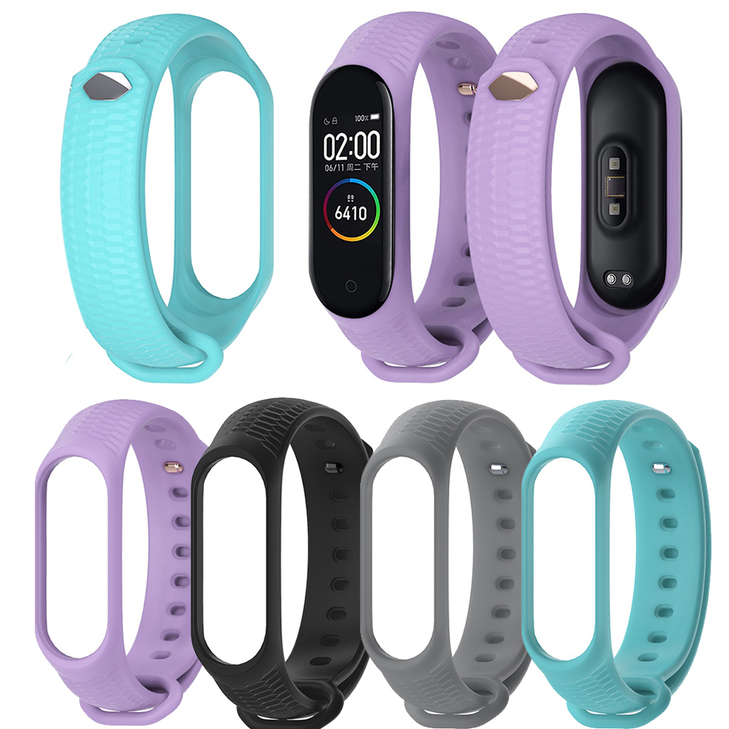 Correa Mi Band 4 Strap Bracelet For Xiaomi Mi Band 4 Sports Soft TPE Silicone Replacement Wristband Wrist Strap For XiaoMi L0613 xiaomi mi band 4