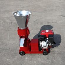 Руководство KL120A бензиновый двигатель гранул мельница/машина древесных гранул