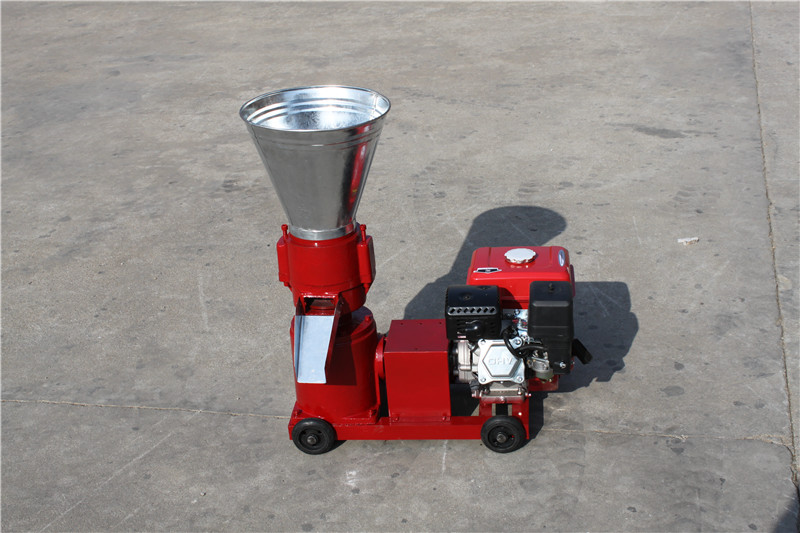 Manual KL120A Gasoline Engine Pellet Mill / Wood Pellet Machine
