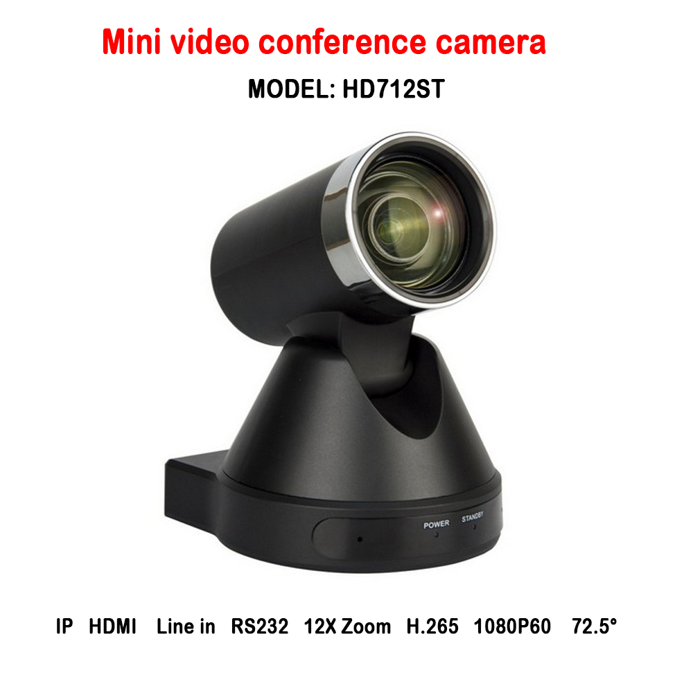New Look H.265 RS232 12x zoom 60fps 1080p mini ip HDMI audio video conference ptz camera for meeting room chat ikecix u12x 2m 12x zoom usb 1080p video conference camera microphone