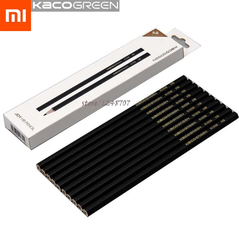 10 sztuk Xiaomi Mijia Kacogreen radość szkic i ołówek gładkie zestaw HB 2.2mm dla artysty Student