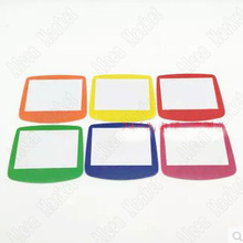240pcs For Nintendo GBA Gameboy Advance No Scratch Colorful Plastic Lens Screen Protector Cover With Stick