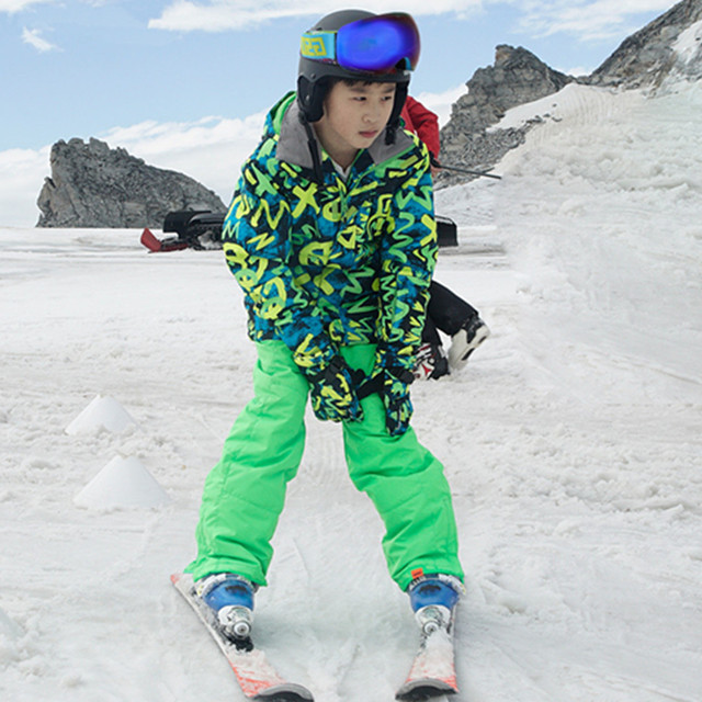 868a4821c8 Wintersport Ski Suits Kids Ski Clothes Children Outerwear Skiing Jackets  Snow Pants Teenager Boys Girls Snow Suits Ski Garcon