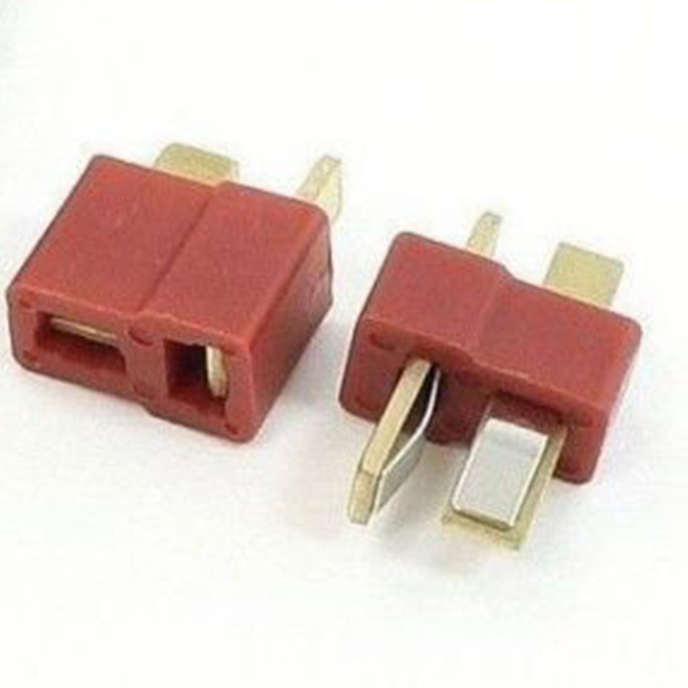 Multiple Specifications T- Plug Male & Female Connectors Deans Style For RC LiPo Battery ESC