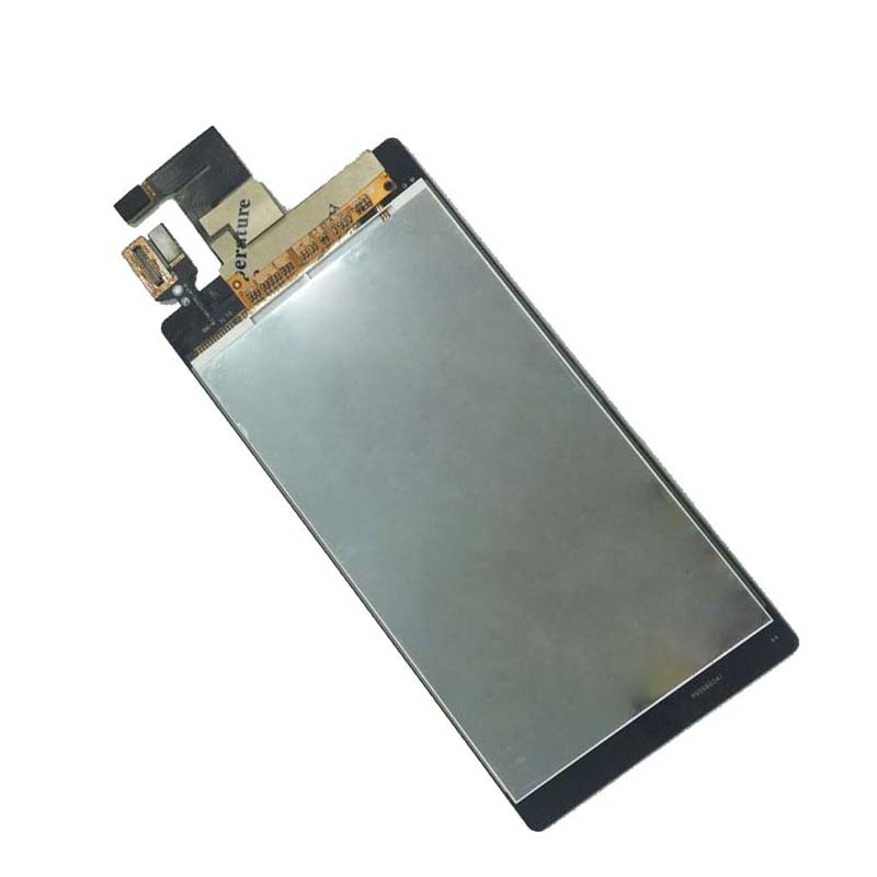 Black For Sony Xperia M2 S50H D2302 D2303 D2305 Touch Screen Digitizer Glass + LCD Display Panel Monitor Module Assembly