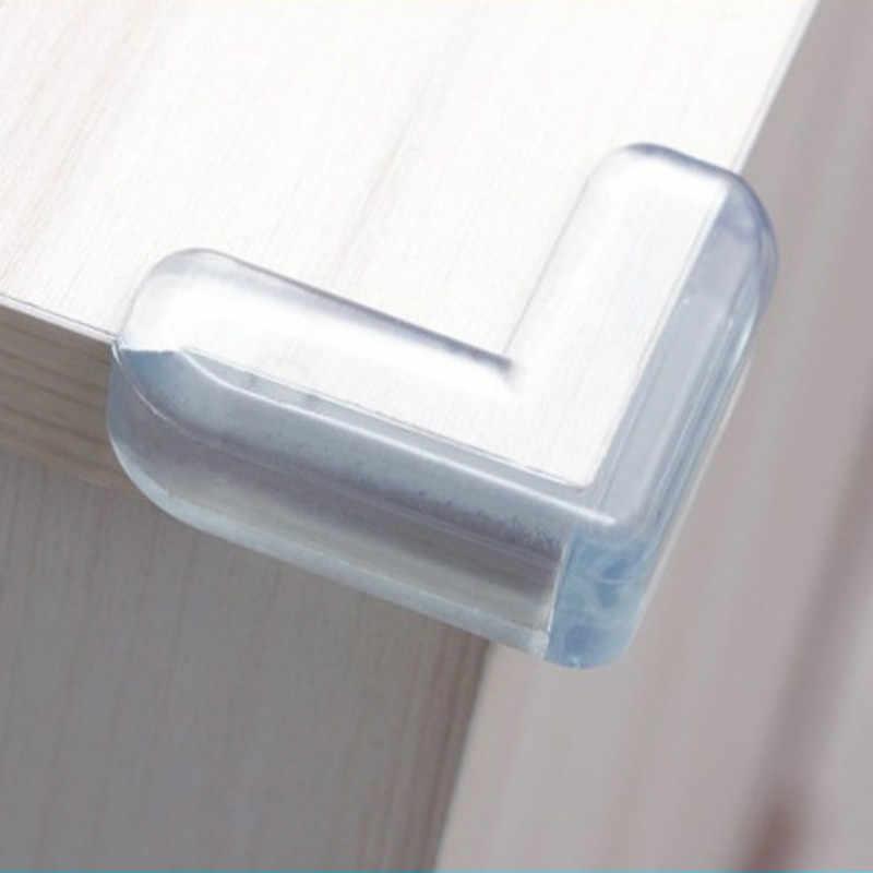 4 Teile/satz Baby Sicherheit L Form Transparente Schutz Abdeckung Tisch Ecke Wachen Kinder Schutz Möbel Rand Ecke Wachen