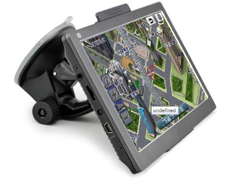 Car GPS 7 inch HD dual core 8GB portable Car GPS Navigation sat nav vehicle GPS Bluetooth Portable Vehicle GPS free shipping