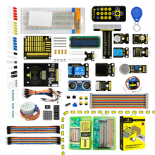 keyestudio  New Ultimate Starter Learning Kit for Raspberry Pi 3 2 Model B/B+ w/Tutorial, ADXL345, HC-SR04 Ultrasonic,lcd 1602