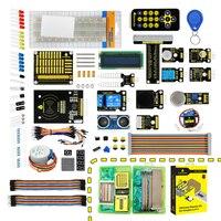 keyestudio New Ultimate Starter Learning Kit for Raspberry Pi 3 2 Model B/B+ w/Tutorial, ADXL345, HC SR04 Ultrasonic,lcd 1602