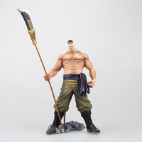 Anime One Piece Figure Edward Newgate Action Figure Whitebeard Gravestone collection Model toys