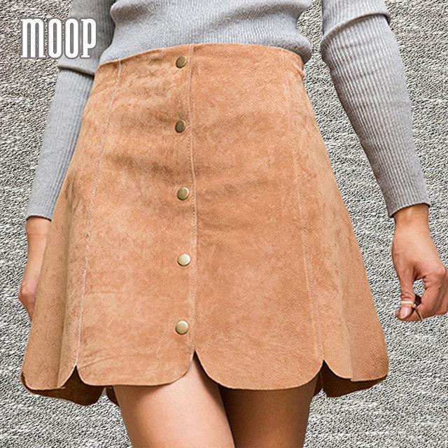 3 colores mujeres snap tapeta flare falda de una línea de faldas de cuero genuino piel de cerdo etek faldas jupe saia mini falda envío gratis lt291