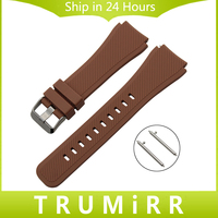 Quick Release Silicone Rubber Watchband 21mm 22mm For Citizen Watch Band Wrist Strap Bracelet Black Brown