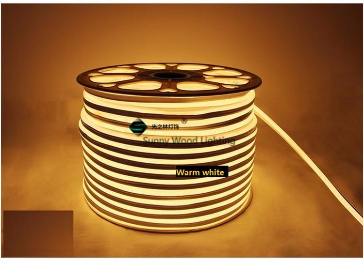Mini Neon flex, 2835 lateral dupla iluminação