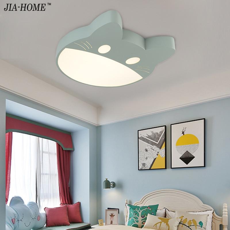 Remote control Children Ceiling lights Modern 85-265V LED luminarias para sala dimming led ceiling lamp for kids boy girls room