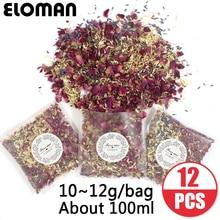 100% натуральные свадебные конфетти ELOMAN, высушенные цветочные лепестки, популярные свадебные и вечерние украшения, биоразлагаемые лепестки роз, конфетти